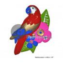 wall decor 60cm parrot