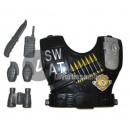 grossiste Maison et habitat: set accessoires policier swat