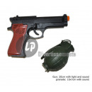 wholesale Gifts & Stationery: 20cm gun and  grenade sound and light