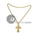 ingrosso Gioielli & Orologi: collana croce in metallo oro
