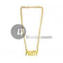 ingrosso Gioielli & Orologi: oro PARTY collare metallico