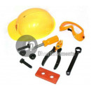wholesale Electrical Tools: Workers set helmet + tools for children