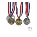 lot 12 medals 5cm