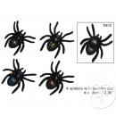 ingrosso Home & Living: set di 4 a 6  centimetri ragni aspiranti