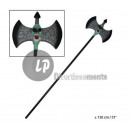 wholesale Manual Tools: double ax green skull 130cm
