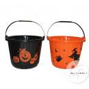 pumpkin bucket 20cm MIX candy
