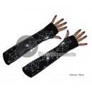 Großhandel Handschuhe: Paar Handschuhe Spinnennetz LONG BLACK