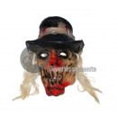 zombie latex hat & hair mask