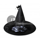 witch hat with satin bow