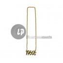ingrosso Gioielli & Orologi: collana oro metallico 1960