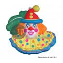 40cm wanddecoratie clown