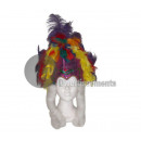wholesale Beads & Charms: Rio carnival tiara with white moumouttes