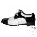 wholesale Shoe Accessories: pair of polished shoes BLACK & WHITE sharp