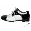 Großhandel Schuhzubehör: Paar polierte Schuhe BLACK & WHITE scharf