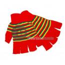 Großhandel Handschuhe: Paar Handschuhe Clown rot gelb grün