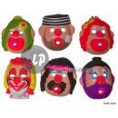 pagliaccio bambino guscio maschera MIX III