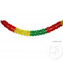 Plastic slinger Rood Geel Groen 5m