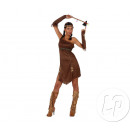 robe d'indienne adulte brun