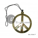 ingrosso Gioielli & Orologi: peace & love  collana 18 centimetri
