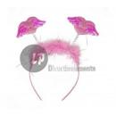 headband marmoset wings ROSE