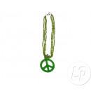 ingrosso Gioielli & Orologi: Collana verde peace & love