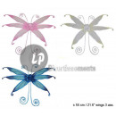 wholesale Pictures & Frames: fairy wings bell 60cm MIX
