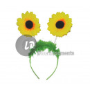 headband sunflowers