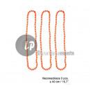 ingrosso Gioielli & Orologi: set di 3 collane  di perline di plastica neon ORAN