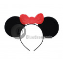 wholesale Toys: plastic mouse  headband with red bow