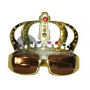 King glasses with crown