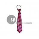 wholesale Ties: BLACK ROSE striped tie 32cm