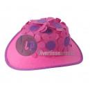 Großhandel Kopfbedeckung:Hut Frau mit Blumen ROSE