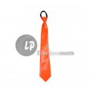 wholesale Ties:neon neon orange tie