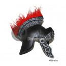 Römischer Helm mit roten Staubtuch Kind