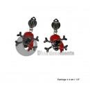 ingrosso Gioielli & Orologi: RED orecchini pirata orecchie