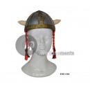 Gallische helm met kind matten