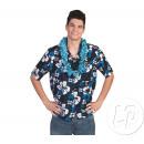 wholesale Shirts & Blouses: shirt hawaii  tahiti blue & white size 48/50
