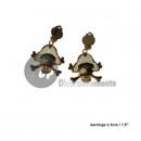 wholesale Earrings:White Pirate ear loops