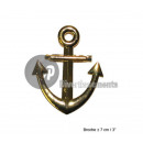 wholesale Accessories & Spare Parts:7cm gold anchor pin