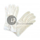 Großhandel Handschuhe: Paar weiße Handschuhe mit Rippen