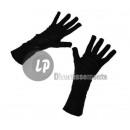 Großhandel Handschuhe: Paar schwarze Handschuhe 33cm