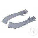 Großhandel Handschuhe: Paar lange weiße Handschuhe 48cm