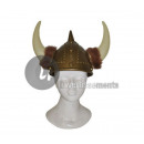 wholesale Microwave & Baking Oven: Viking helmet with horns 2 large fur