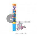 bomb confetti popper 40cm 18 anniversary