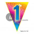 Großhandel Partyartikel:Girlande 10 Flags