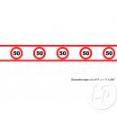Verjaardag wandfries 50 jaar 6m10