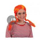 fifi orange  Perücke mit Bettdecken