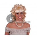 perruque cheveux court lolita blond