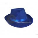 Borsalino Filzhut mit blauem Stirnband