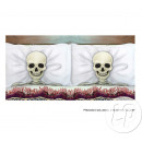 wholesale Cushions & Blankets: set of 2 pillowcases, cushion 53 skeletons